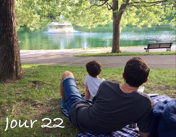 Sortie en famille au Parc. Slow and Cute