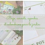 Calendrier, agenda et carnets pour les jardiniers