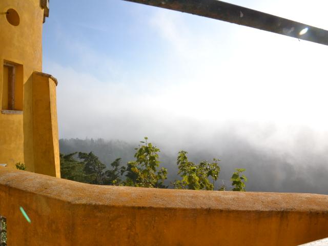 le fameux brouillard de Sintra
